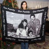 Our Family Picture Blanket